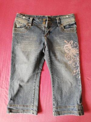 3/4-jeans veelkleurig