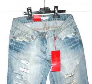 3/4 Jeans NEU mit Etikett, Gr. 25