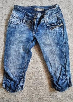 3/4 Jeans, verwaschen