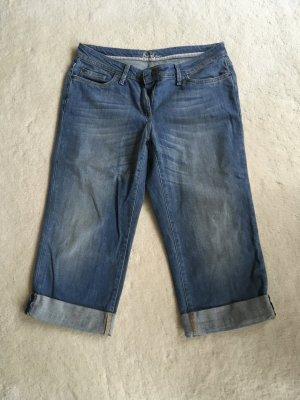 3/4 Jeans von Boden mit Umschlag
