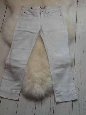 Notify 3/4 Length Jeans white