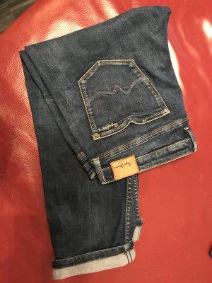 Pepe Jeans Jeans 3/4 bleu tissu mixte