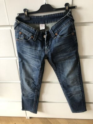 True Religion 3/4 Length Jeans blue