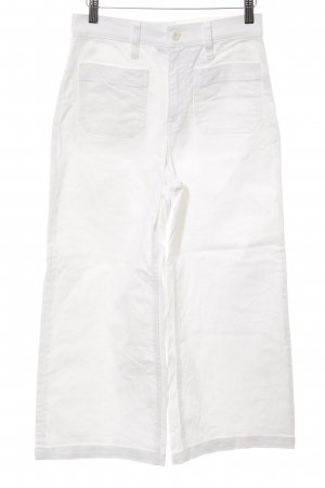 3/4 Length Jeans white classic style