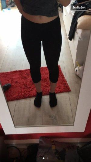 3/4 Leggings schwarz