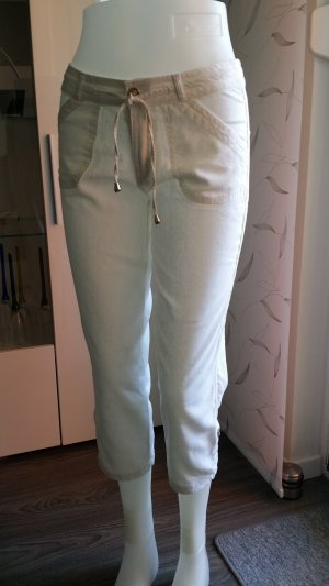 Atmosphere Linen Pants white mixture fibre