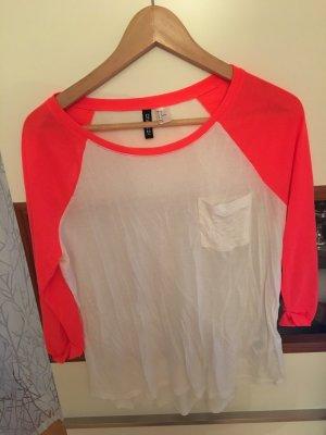 3/4 Longshirt in Neon-Farben