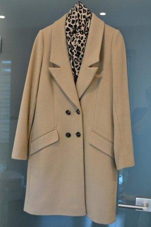 3/4 Mantel aus Schurwolle