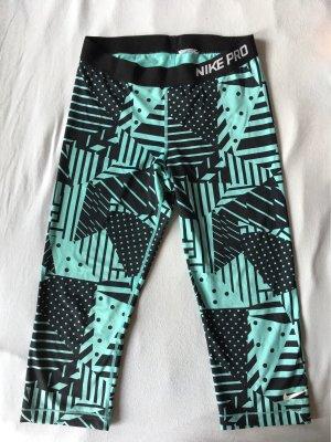 Nike Sportbroek lichtblauw-zwart