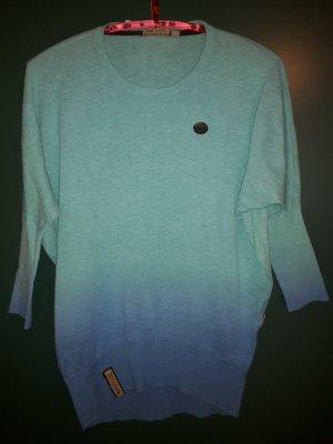 3/4 Pullover von Naketano mit grün-blauen Verlauf in M/L