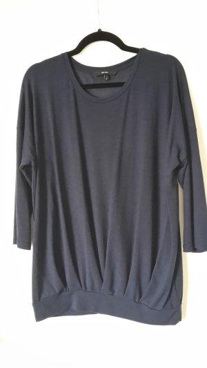 Vero Moda Oversized shirt donkerblauw