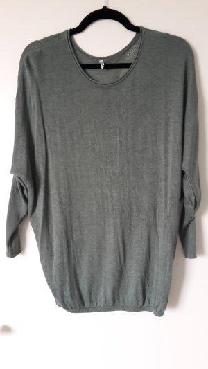 Only Oversized shirt grijs-groen