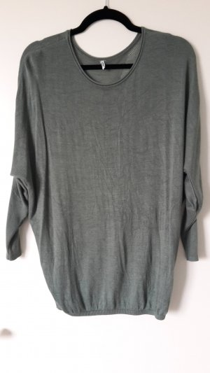 Only Camisa holgada verde grisáceo