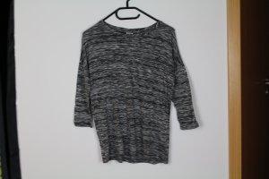 3/4 Shirt grau meliert