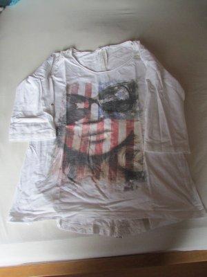 3/4 Shirt in weiß