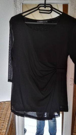 Manguun Jersey de manga corta negro