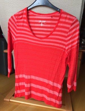 Cool Code Maglietta a righe rosso-rosso chiaro