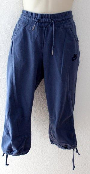 Nike pantalonera azul acero tejido mezclado