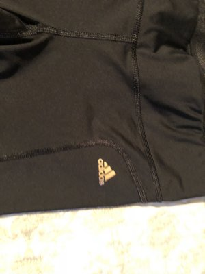 Adidas 3/4 Length Trousers gold-colored-black