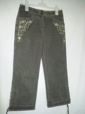 Tramontana Pantalon bavarois gris-kaki coton
