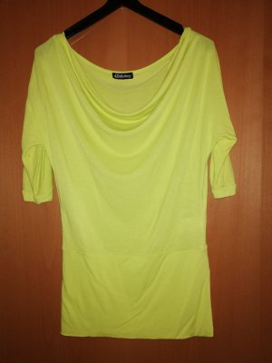 Chillytime Tunique-blouse jaune fluo