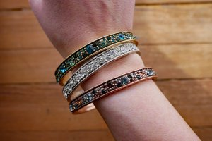 Pilgrim Bangle multicolored