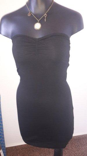 H&M Top a fascia nero-ocra