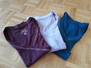 Zero Haut basique multicolore coton