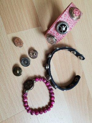 3 Chunk-Armbänder mit Chunks