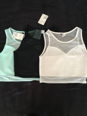 3 Cropped Tops