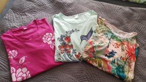 Laura Kent Camiseta multicolor Algodón