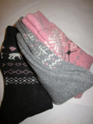 Legwarmers multicolored