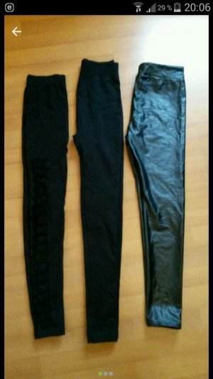 3 er set leggings gr.34