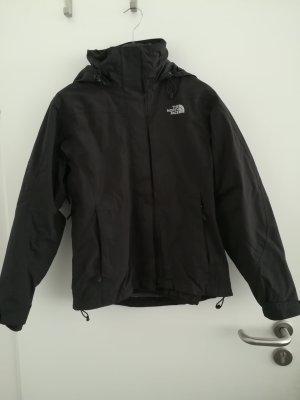North Face Outdoor Jacket black nylon