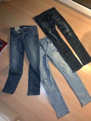 Abercrombie & Fitch Pantalone blu acciaio-grigio ardesia