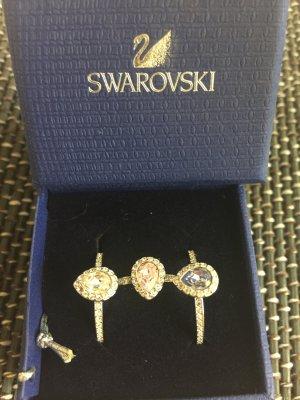 3 Kombi Ringe von Swarovski