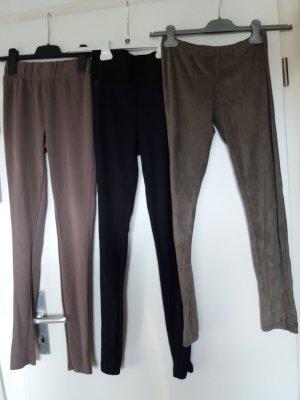 3 Leggings Größe XS/S Amisu/Orsay