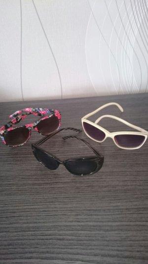 3 modische Sonnenbrillen