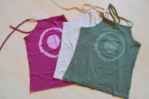Halter Top multicolored cotton