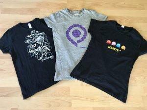 3 Nerd Shirts Gamescom 2009 und PacMan
