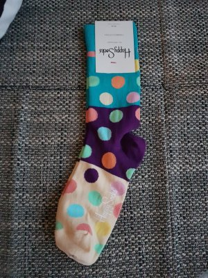 Happy socks Scaldamuscoli azzurro-menta