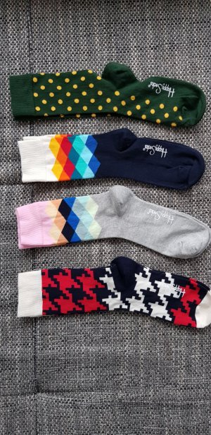 Happy socks Puño negro-púrpura