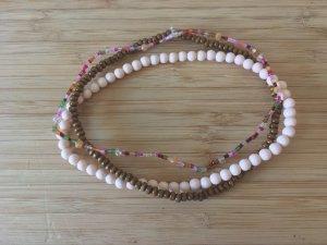 3 Perlen Choker / Armbänder