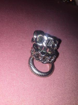 3 Ringe in Silber