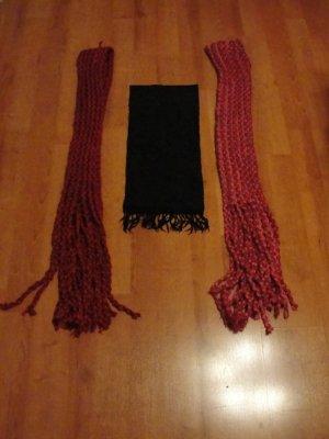 3 schicke Schals, gut erhalten!
