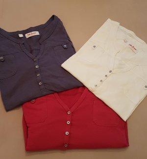 3 Stk.John Baner Shirt  44 /46
