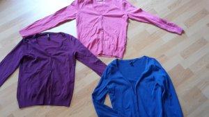 Colours of the World Gebreid vest veelkleurig