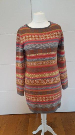 3 Suisses 40/42 Long Pullover Wollkleid