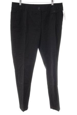 3 Suisses Pantalon à pinces noir style décontracté
