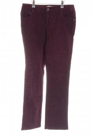 3 Suisses Cordhose rot Casual-Look